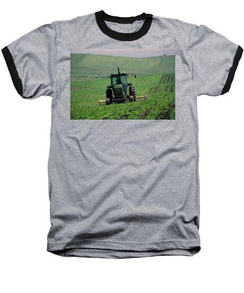 My Big Green Tractor Baseball T-Shirt