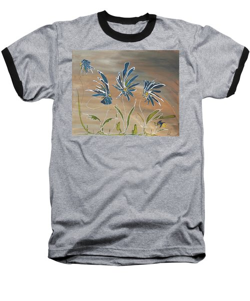 My Blue Garden Baseball T-Shirt