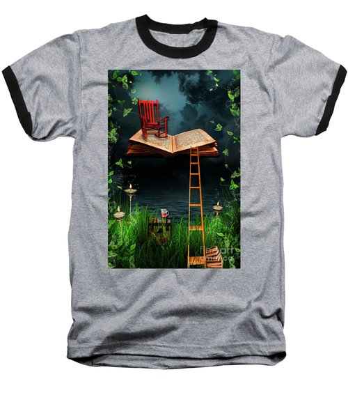 My Book Said Come Fly With Me Baseball T-Shirt