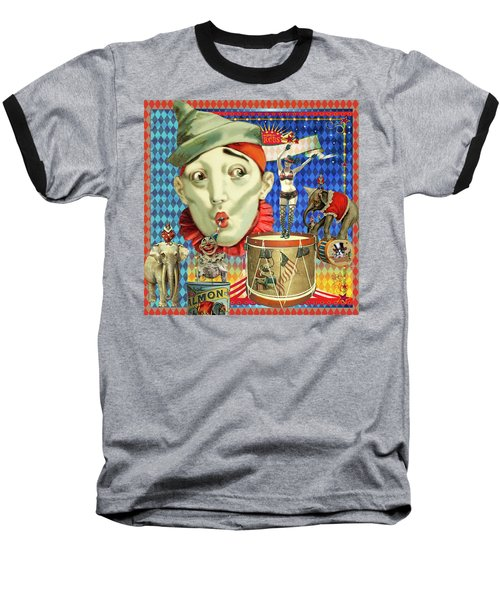 Baseball T-Shirt featuring the photograph My Circus by Jeff Burgess