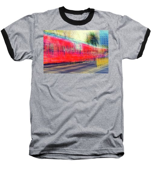 My City's Got A Trolley Baseball T-Shirt by Joseph S Giacalone