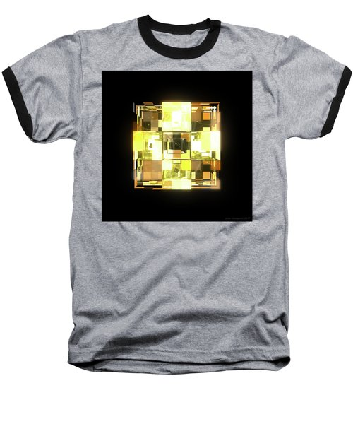 My Cubed Mind - Frame 001 Baseball T-Shirt