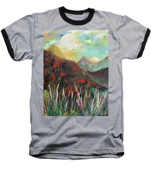 My Days In The Mountains Baseball T-Shirt