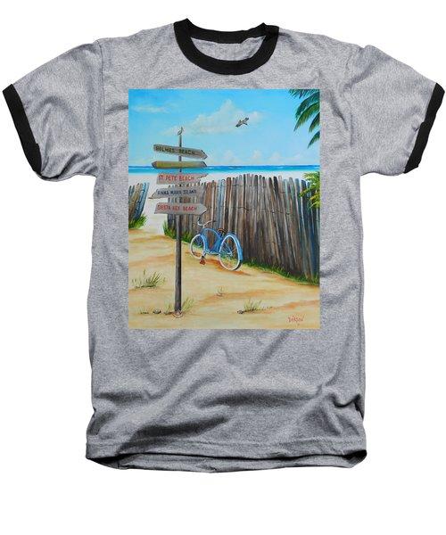 My Favorite Beaches Baseball T-Shirt
