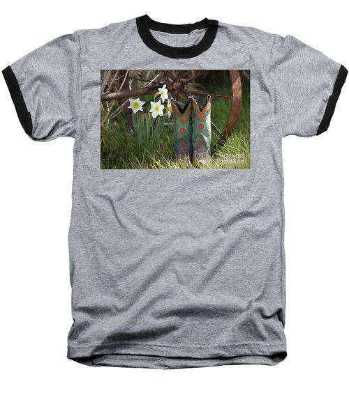 Baseball T-Shirt featuring the photograph My Favorite Boots by Benanne Stiens