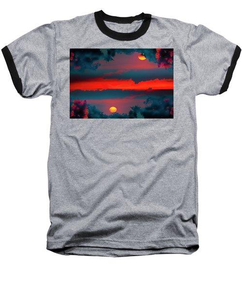 My First Sunset- Baseball T-Shirt