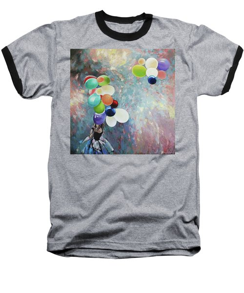 My Friend The Wind. Baseball T-Shirt