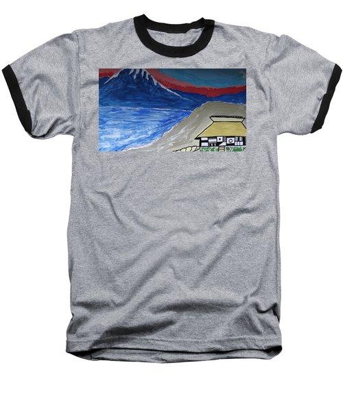 My Fuji House In Japan  Baseball T-Shirt