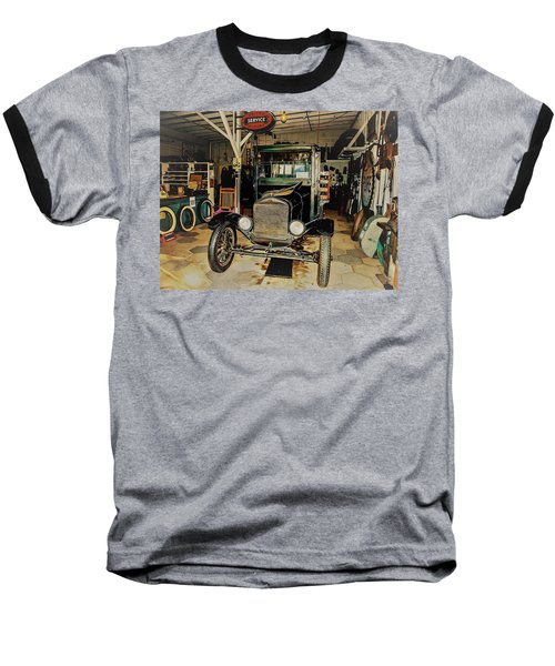 My Garage Too Baseball T-Shirt