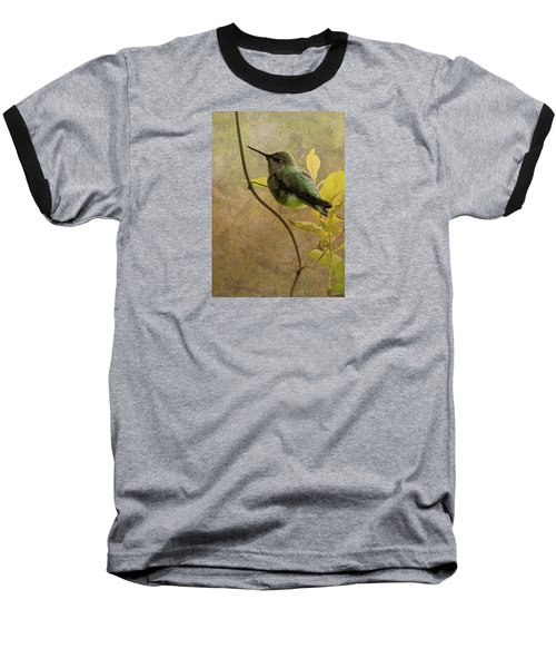 My Greeting For This Day Baseball T-Shirt by I'ina Van Lawick