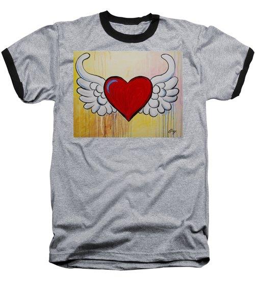 My Heart Has Wings Baseball T-Shirt