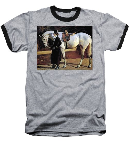 My Horse Is My Friend  Baseball T-Shirt
