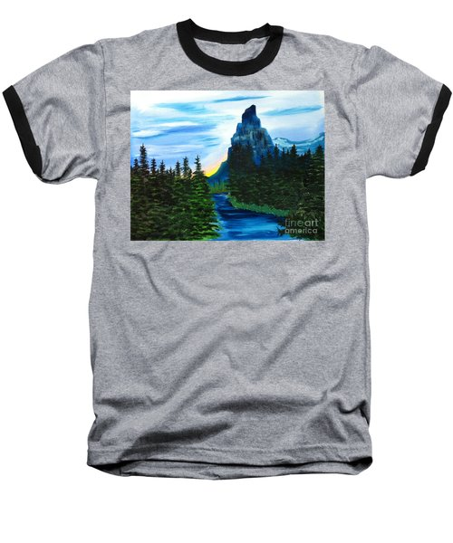 My Imagination Only Baseball T-Shirt by Rod Jellison
