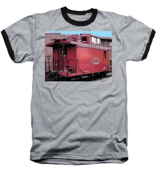 My Little Red Caboose Baseball T-Shirt