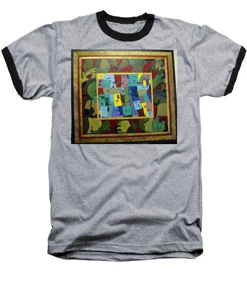 My Little Town Baseball T-Shirt by Bernard Goodman