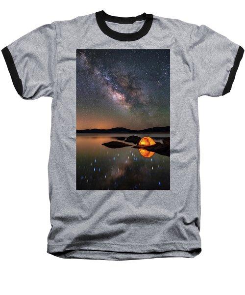 My Million Star Hotel Baseball T-Shirt by Darren White