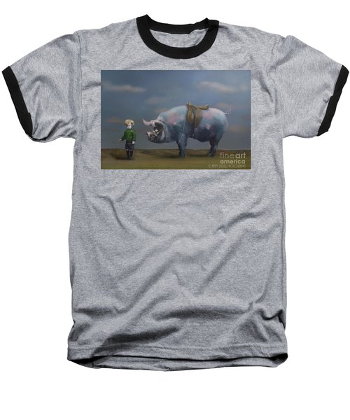 My Pony Baseball T-Shirt by Kathy Russell