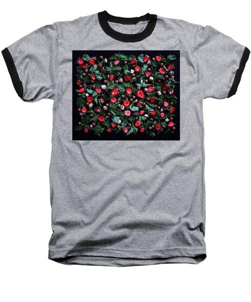 My Real Strawberry Patch Baseball T-Shirt