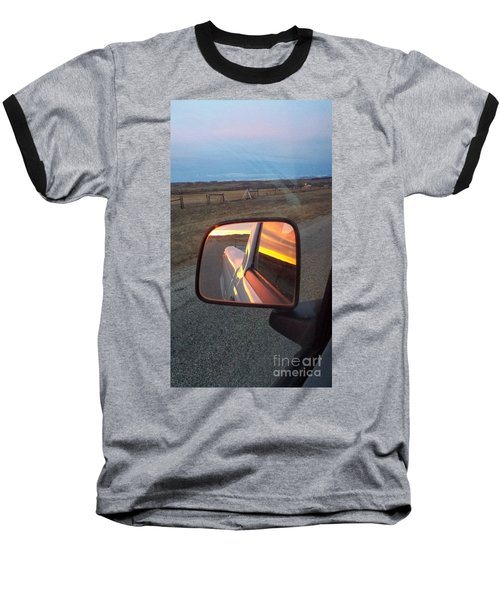 My Rear View Mirror Baseball T-Shirt