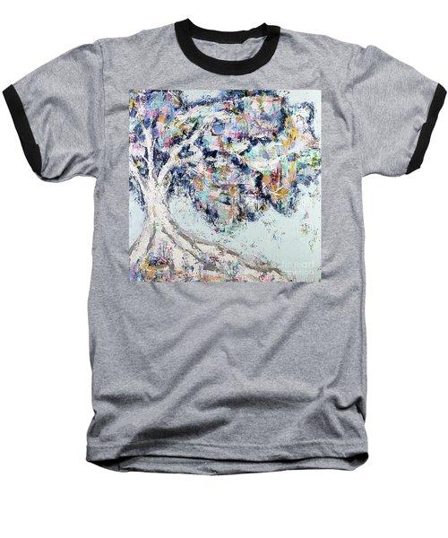 My Secret Hideout Baseball T-Shirt by Kirsten Reed