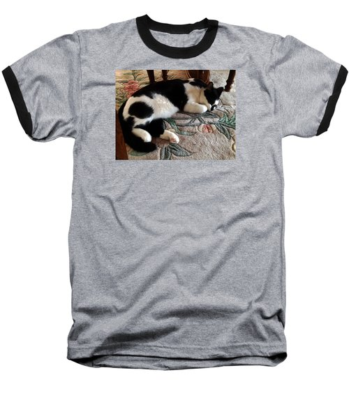 My Sleeping Cat Baseball T-Shirt