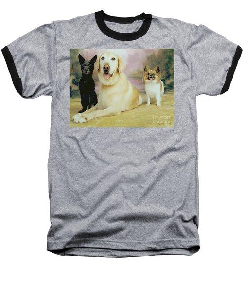My Son's Three Dogs Baseball T-Shirt