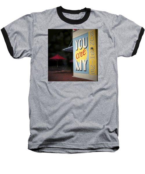 My Sunshine Baseball T-Shirt by Glenn Gemmell