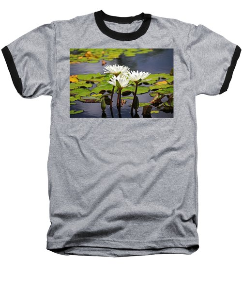Baseball T-Shirt featuring the photograph My Sweetest Madness by Michiale Schneider