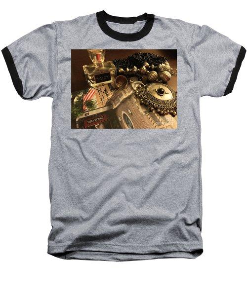 My Travel Feminine Accoutrements  Baseball T-Shirt