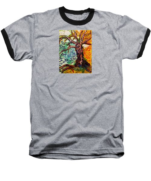 My Treefriend Baseball T-Shirt by Mimulux patricia no No