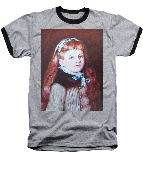 My Version Of A Renoir Baseball T-Shirt by Constance DRESCHER