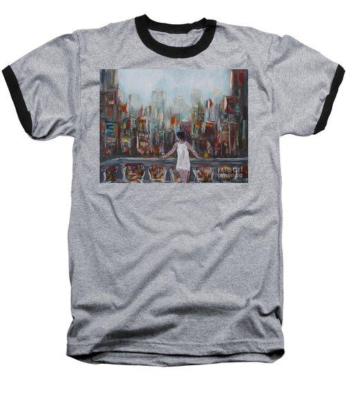 My View Baseball T-Shirt
