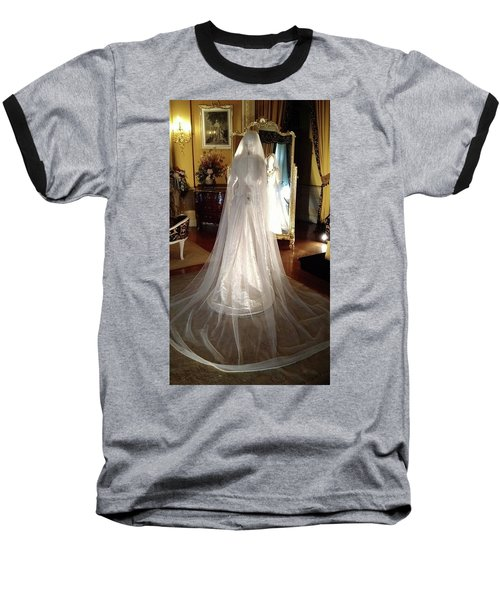 Baseball T-Shirt featuring the photograph My Wedding Gown by Gary Smith