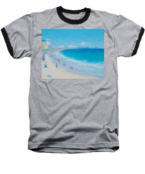 Myrtle Beach And Springmaid Pier Baseball T-Shirt