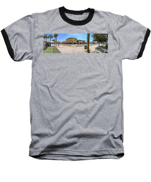 Myrtle Beach Pavilion Building Baseball T-Shirt