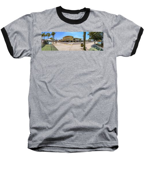 Myrtle Beach Pavilion Building Baseball T-Shirt