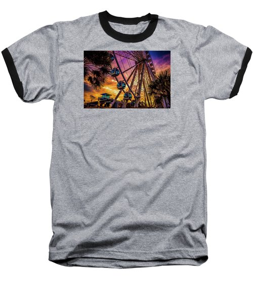 Myrtle Beach Skywheel Baseball T-Shirt