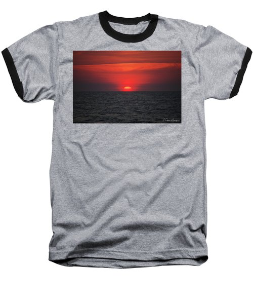 Myrtle Beach Sunrise 1 Baseball T-Shirt