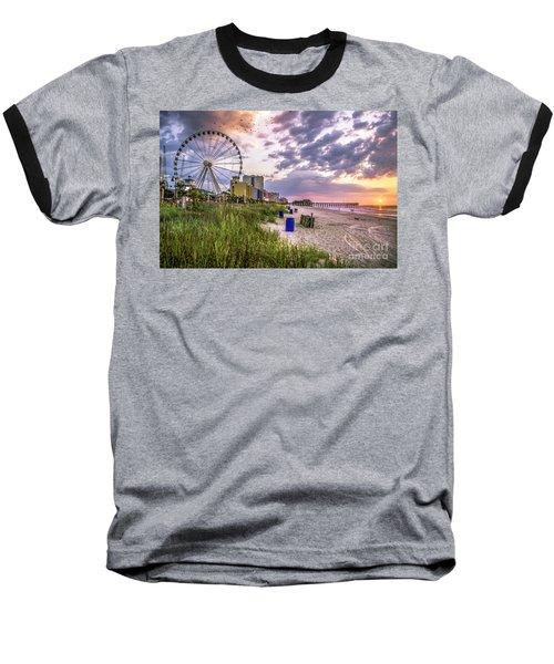 Myrtle Beach Sunrise Baseball T-Shirt