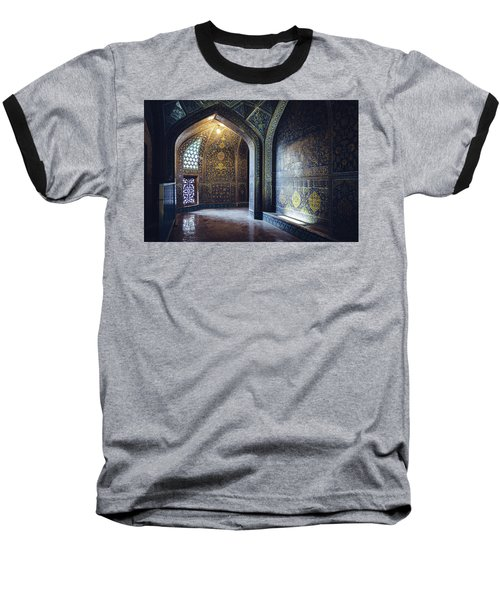 Mysterious Corridor In Persian Mosque Baseball T-Shirt
