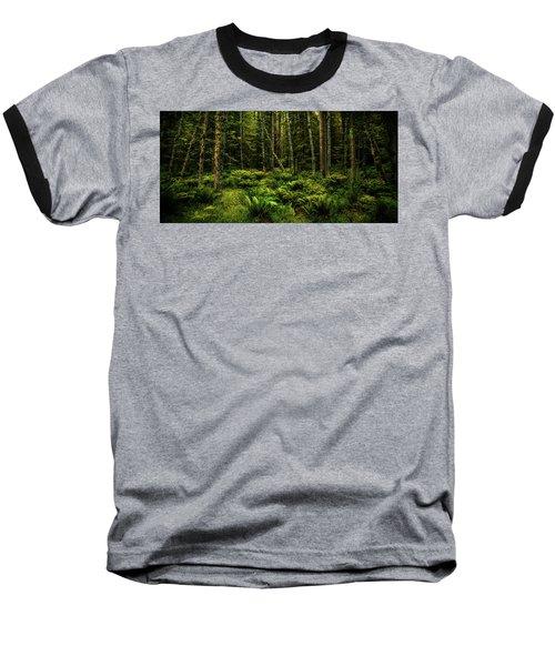 Mysterious Forest Baseball T-Shirt