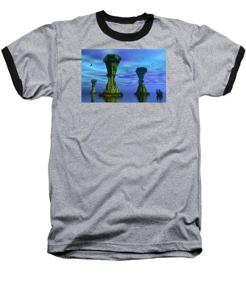 Mysterious Islands Baseball T-Shirt
