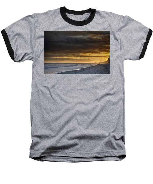 Mysterious Myrtle Beach Baseball T-Shirt by Kelly Reber