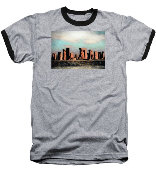 Mysterious Stonehenge Baseball T-Shirt