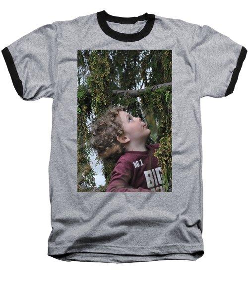 Mysterious Tree Baseball T-Shirt