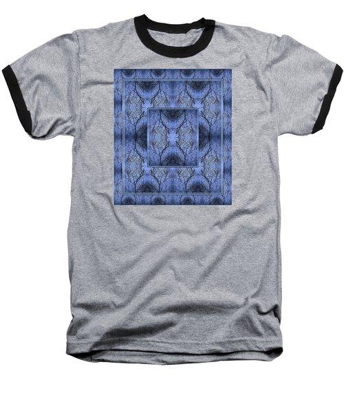 Mystery Blue Baseball T-Shirt