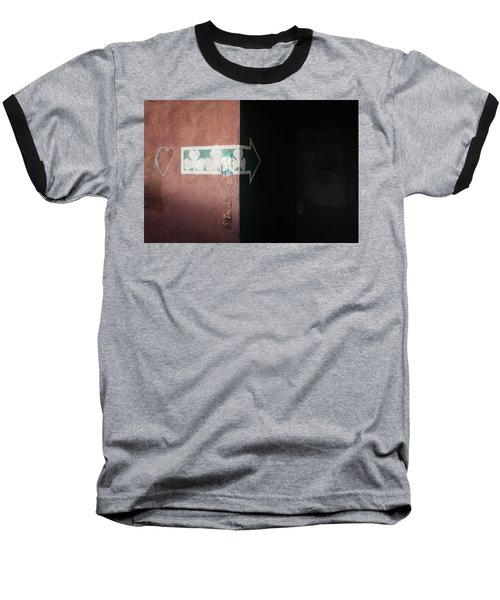 Baseball T-Shirt featuring the photograph Mystery In The Doorway by Monte Stevens