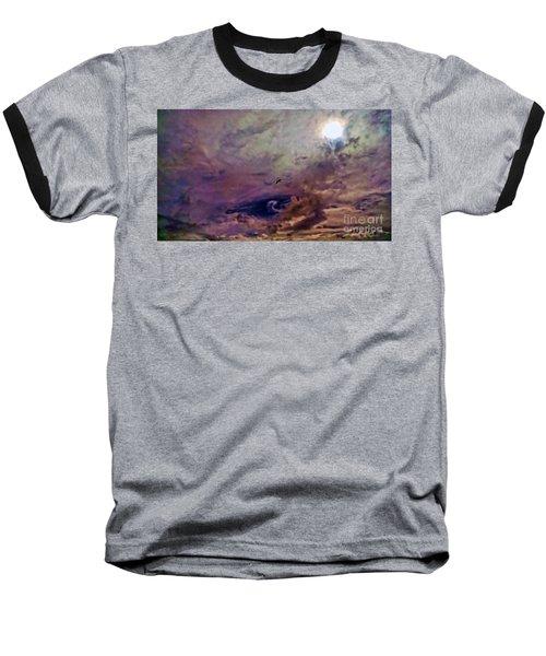 Mystery Sky Baseball T-Shirt
