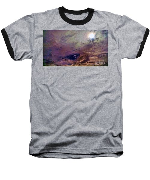 Baseball T-Shirt featuring the photograph Mystery by Roberta Byram