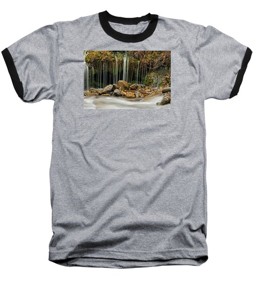 Mystery Stream Baseball T-Shirt